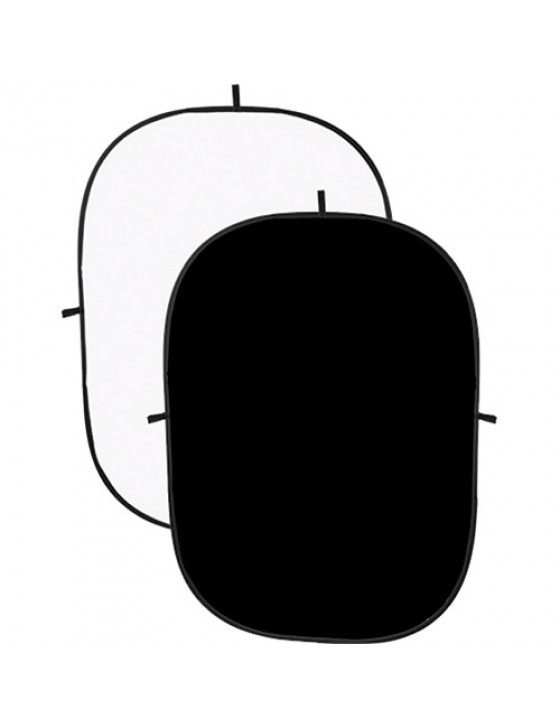 Angler Collapsible Background - 5x7 (Black/White)