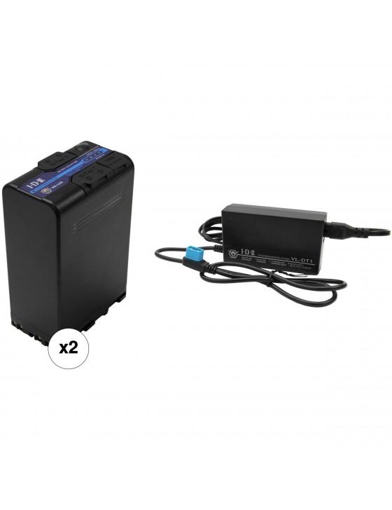 IDX BP-U Battery Kit with D-Tap
