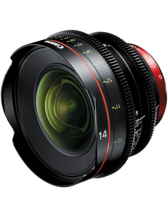 Canon CN-E 14mm T3.1 L Cinema Prime