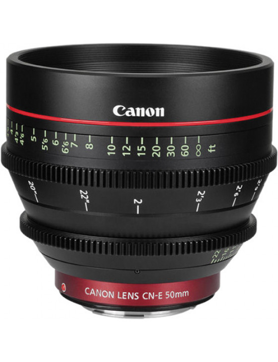Canon CN-E 50mm T1.3 L Cinema Prime