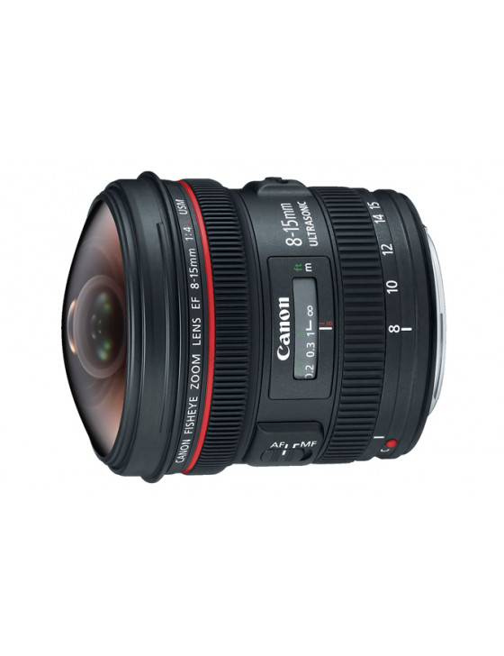Canon EF 8-15mm f/4L Fisheye Zoom