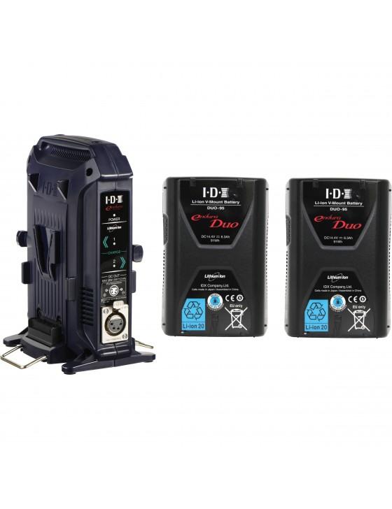 Premium Dual V-Mount Battery Kit - IDX