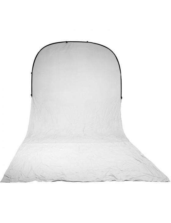 Impact 8x16 Fold-Up Backdrop (White)