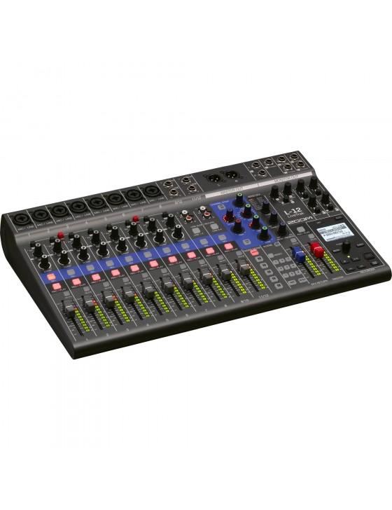 Zoom L-12 Digital Mixer & Recorder