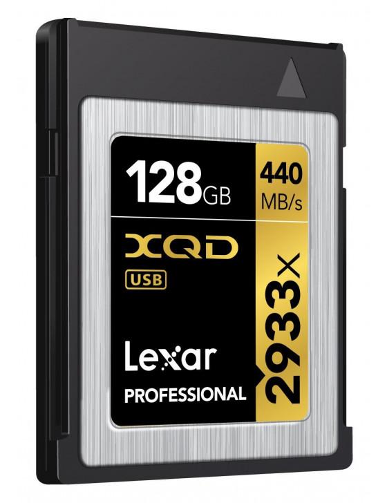 Lexar Pro 128GB XQD Memory Card