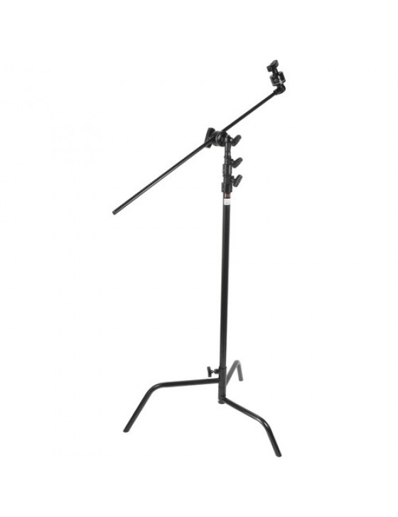 Matthews C-Stand with arm - black - rocky mountain leg