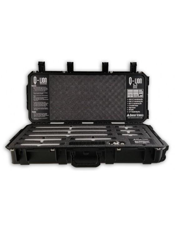Quasar Science Q-LION 3X3 Battery LED Kit