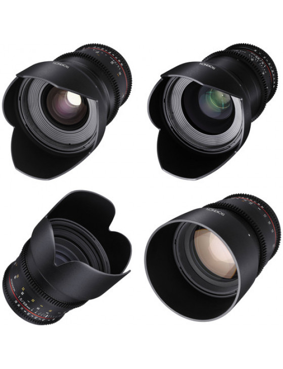 Rokinon Cine DS 4-Lens Kit  - Sony E-Mount