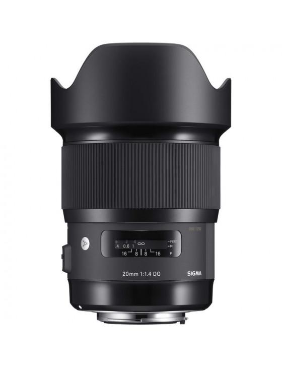 Sigma 20mm f/1.4 (Canon mount)