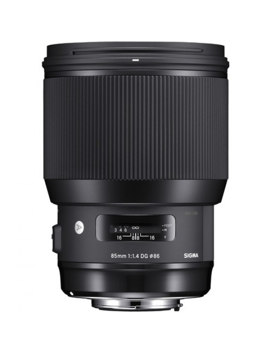Sigma 85mm f/1.4 DG Art (Canon Mount)