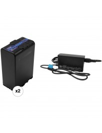 IDX BP-U Battery Kit with D-Tap