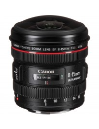 Used for Sale - Canon EF 8-15mm f/4L Fisheye - x1123