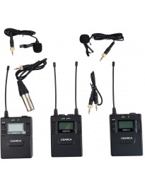 Comica Dual Wireless Lav Mic Kit