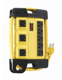 Heavy Duty 8-outlet Power Strip