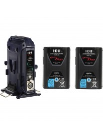 Premium Dual V-Mount Battery Kit - IDX