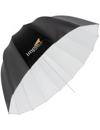 Impact Deep Umbrella  - White Bounce 41""