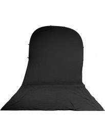 Impact 8x16 Fold-Up Backdrop (Black)