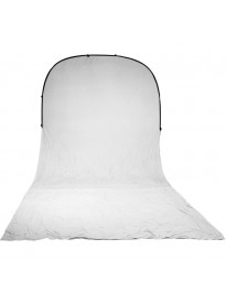 Impact 8x16 Fold-Up Backdrop (White)