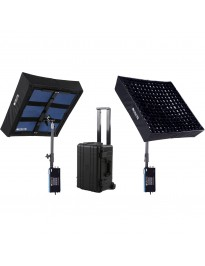 Intellytech LiteCloth LC-160 2 x 2' Foldable LED Kit