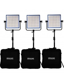 Dracast Bi-Color LED1000 Pro - 3 light kit