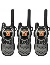 Motorola MT352TPR Talkabout FRS Radio - set of 3