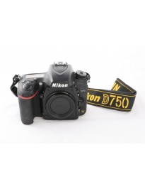 Used For Sale - Nikon D750 FX DSLR body - x2311