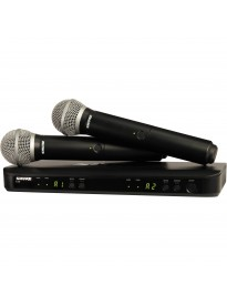 Shure BLX288 Dual-Channel Wireless Microphone System
