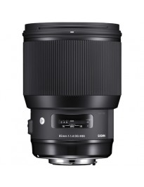 Sigma 85mm f/1.4 DG Art (Canon Mount)