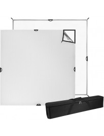 Westcott Scrim Jim 6x6 Silver/White ultra bounce fabric