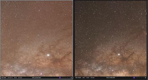 Star Tracker Comparison