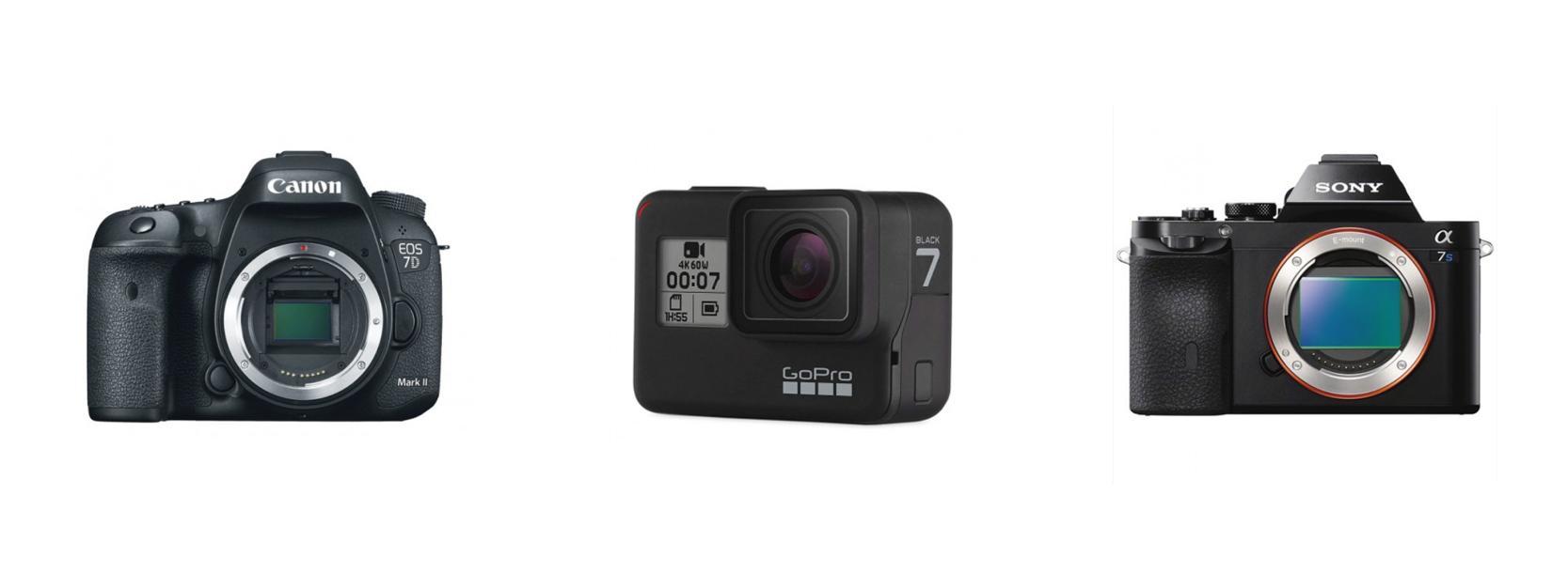 Cameras for live stream