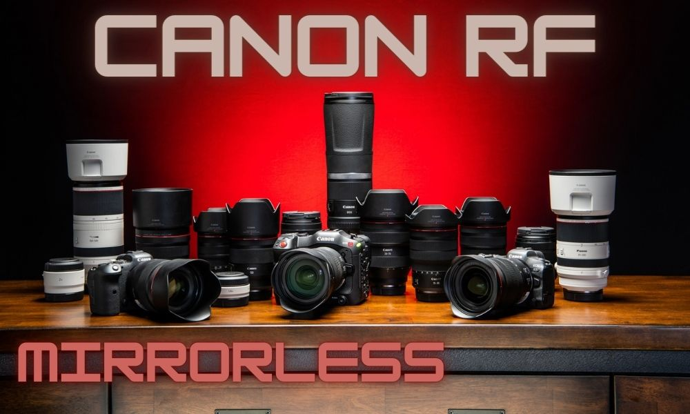 Rent Canon Mirrorless Cameras & Lenses