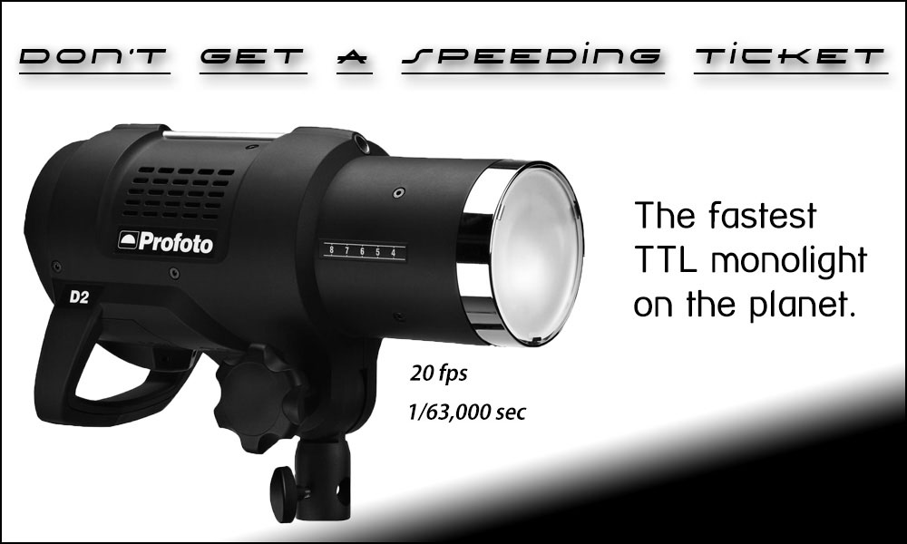 Rent the Profoto D2 monolight