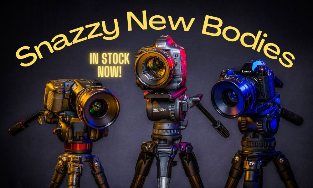 Rent New Cameras From Canon Sony Nikon and Blackmagic