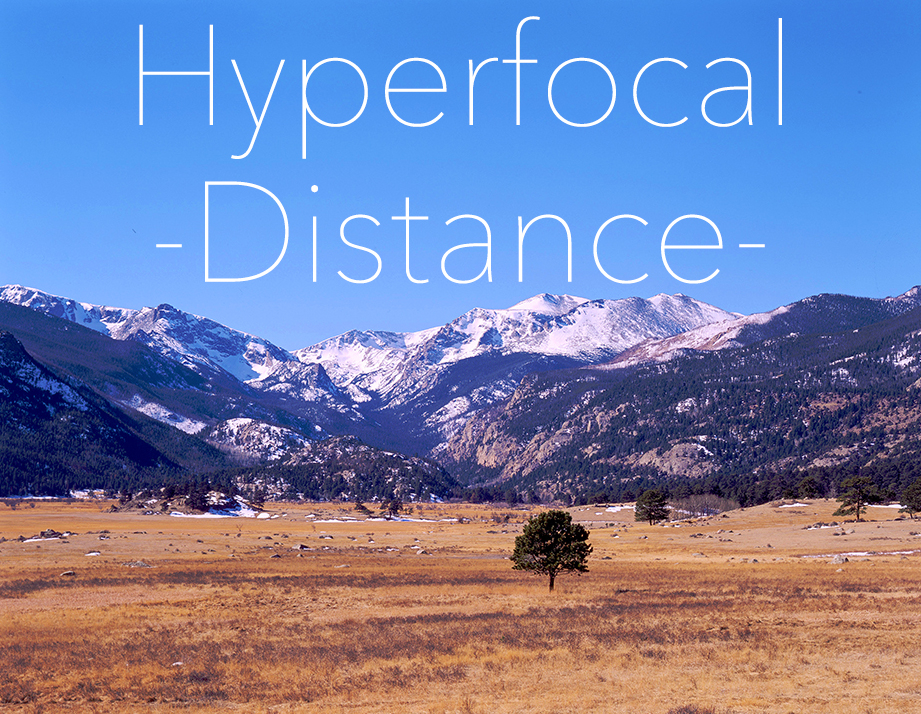 Hyperfocal Distance Landscape